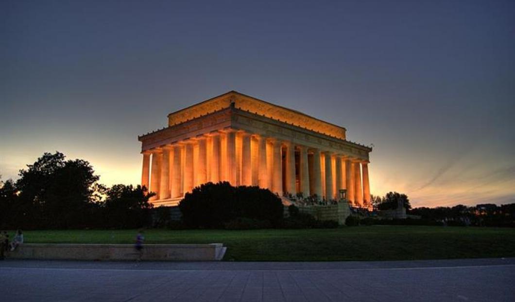 5) Monumento a Lincoln, Washington DC, EE.UU.