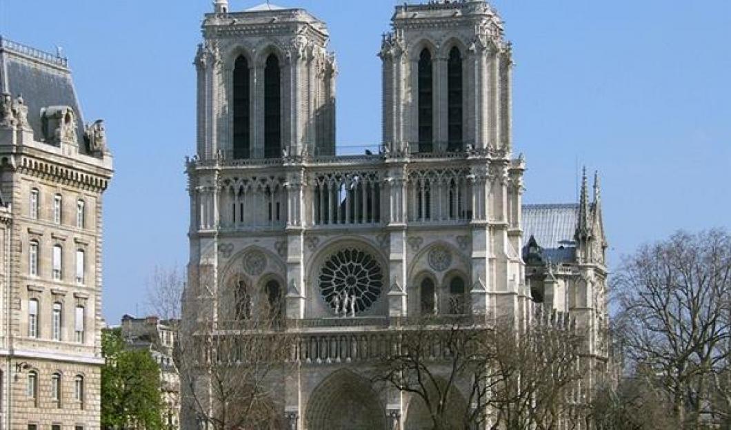 1) Notre-Dame de Paris, París, Francia