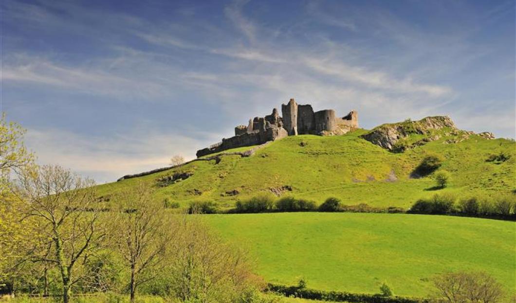 Castillo de Carreg Cennen, Gales