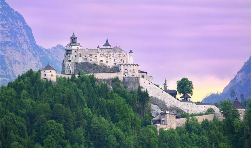 Castillo Hohenwerfen, Austria