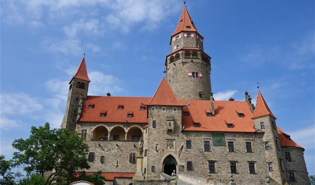 Castillo Bouzov, República Checa