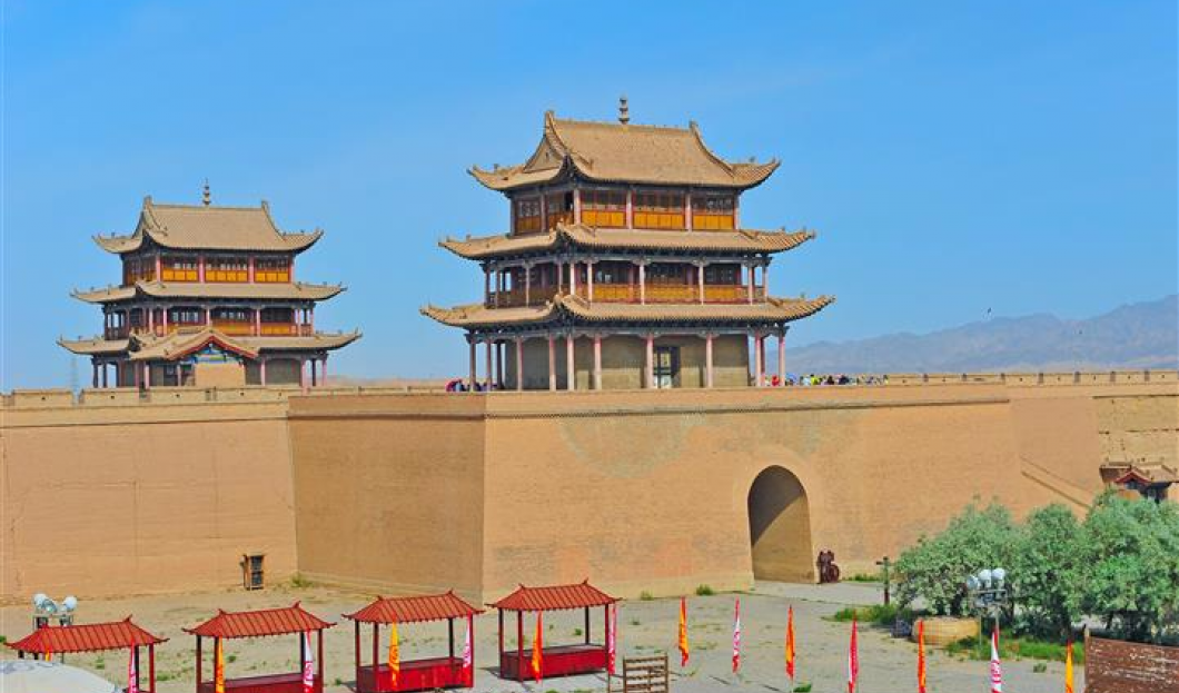 3. La Gran Muralla de Jiayuguan