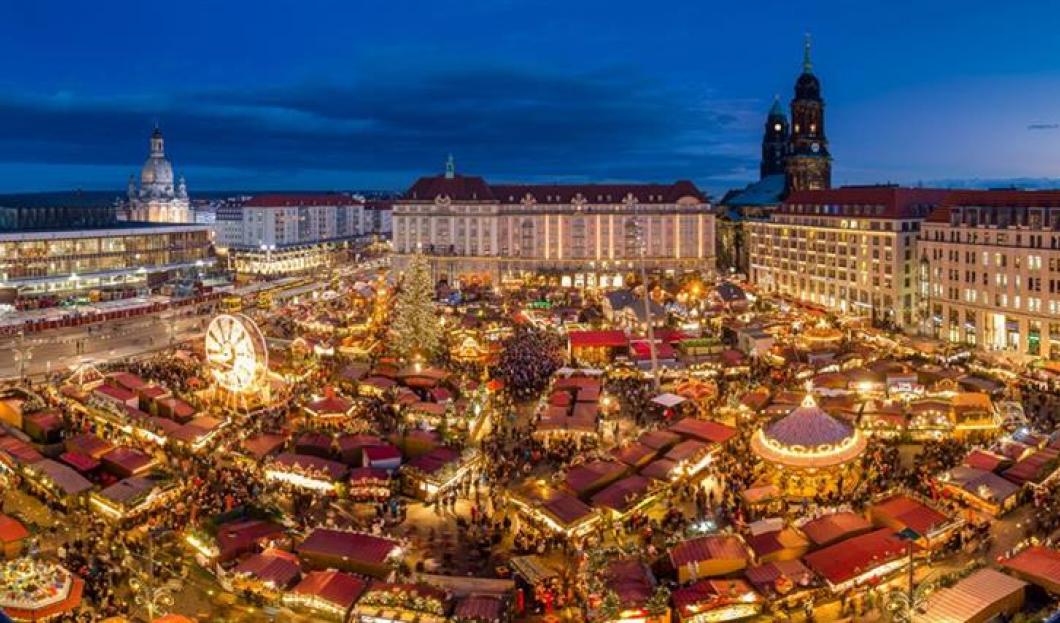 El Striezelmarkt de Dresde